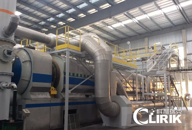 Waste Tyre Pyrolysis Plant for Carbon black
